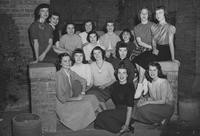1952 Candidates for Homecoming Queen and Princesses