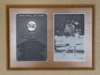 Hall of Fame Plaque: Craig Welty, Golf, Class of 2012