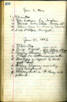 AS Board Minutes 1942-01