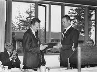 1964 Alumni Day: Art Runestrand and Ed Bailey