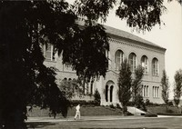1935 Library: North Facade