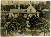 Bellingham Bay Improvement Company Orchard House, 1873