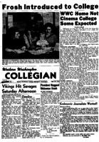 Western Washington Collegian - 1955 September 23