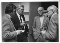1970 Henry L. Adams with Ronald Kleinkecht, Peter Elich, and Paul Woodring