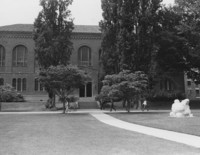 1975 Library: North Facade