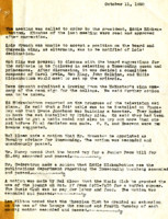 AS Board Minutes 1950-10