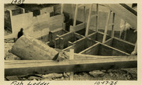 Lower Baker River dam construction 1925-10-17 Fish Ladder
