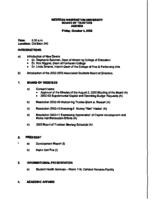 WWU Board minutes 2002 October