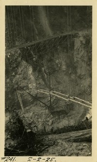 Lower Baker River dam construction 1925-02-02
