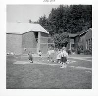 1965 Girls Playing Softball