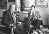 1983 G. Robert Ross with Representative Pat Fiske