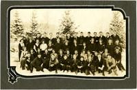 Fairhaven classmates pose in snow