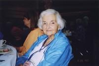 2007 Reunion--Frances (Winslow) Sudduth at the Banquet
