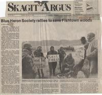 Blue Heron Society rallies to save Fishtown woods