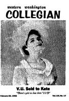 Western Washington Collegian - 1962 February 23