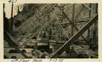 Lower Baker River dam construction 1925-07-13 4th Floor Walls