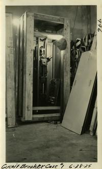 Lower Baker River dam construction 1925-06-28 Circuit Breaker Case #1