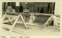 Lower Baker River dam construction 1924-09-09 Shop
