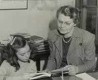 1948 Pearl Merriman With Student