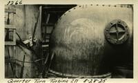 Lower Baker River dam construction 1925-08-28 Quarter Turn Turbine 2N