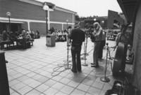 1980 Musicians Entertain on Viking Unon Plaza