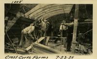 Lower Baker River dam construction 1925-07-23 Crest Curve Forms
