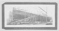 Launching of the S.S. Rosewood, Bellingham