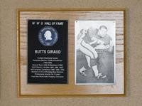 Hall of Fame Plaque: Butts Giraud, Football (Defensive Tackle), Class of 1991