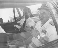 Governor Booth Gardner and Rear Admiral James Seely