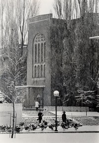 1968 Library in Winter