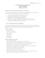 WWU Board of Trustees Minutes: 2015-06-12