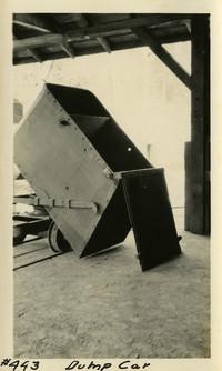 Lower Baker River dam construction 1925-04 Dump Car