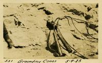Lower Baker River dam construction 1925-05-09 Grounding Cones