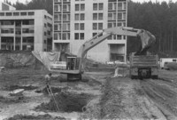 1981 Parks Hall: Construction