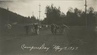 1927 Campus Day: Pullcart Race