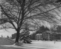 1959 Men's Residence Hall: After Snowstorm