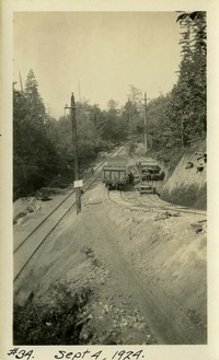 Lower Baker River dam construction 1924-09-04 Off-site railroad