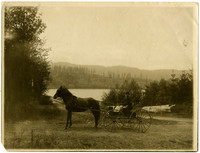 T.W. Gillette at Lake Padden