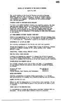 WWU Board minutes 1951 April