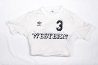 Soccer (Women's) Jersey: #3, Annette Duvall, signed, 1982/1984