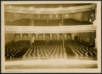 Interior of Beck's Opera House, Bellingham,WA