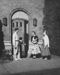 1951 Library: South Door