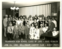 Fairhaven high school class of 1930 50th class reunion