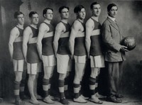 1911 Basketball Team