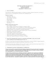 WWU Board of Trustees Minutes: 2016-03-30