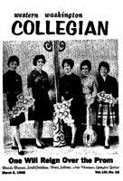 Western Washington Collegian - 1962 March 2