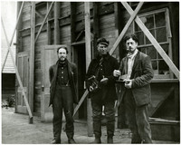 Emrys Morgan, Mr. Carlson and Harry Smith