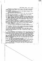 WWU Board minutes 1913 May