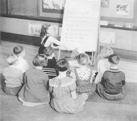 1936  Reading Time (First Grade)