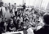 1965 Students Regard A Goose